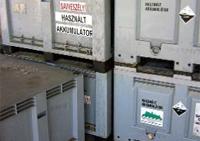 különleges kezelést igénylő hulladékok - elektromos és elektronikus akkumulátorok